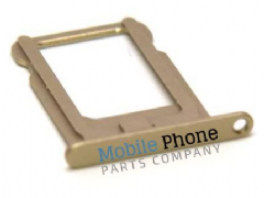 Apple iPhone 5S Sim Tray - Gold
